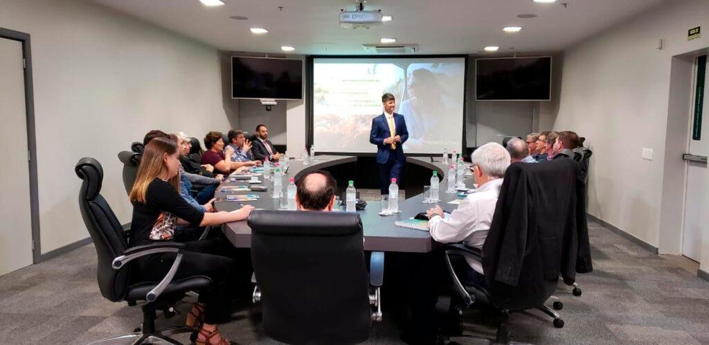 palestra para diretoria da Unimed-VTRP- Lajeado / RS