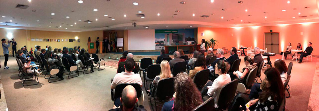 palestra em parceria com a UNIMED nordeste em Caxias do Sul / RS